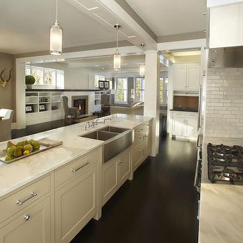 Dual Apron Sink, Transitional, kitchen, TEA2 Architects