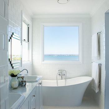 art deco mirrors transitional bathroom veranda house. Black Bedroom Furniture Sets. Home Design Ideas