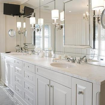 Beveled Mirrors Design Ideas