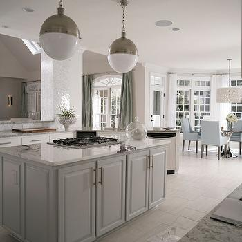 Nice Kitchen Island Cooktop View Full Size