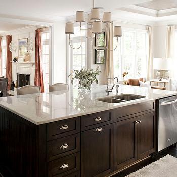 Kitchen Island Dishwasher, Transitional, kitchen, Heather Garrett Design