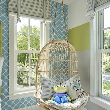 Hanging Chair, Contemporary, girl's room, Great Neighborhood Homes