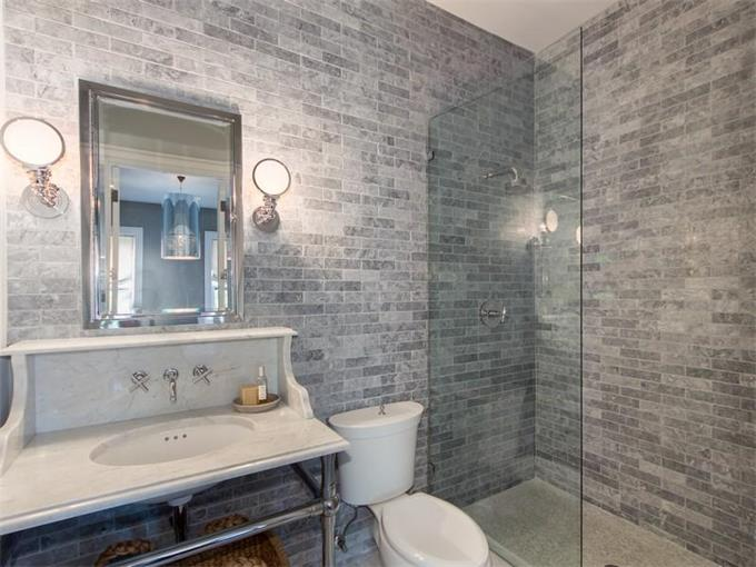 Amazing Grey Marble Bathroom On Pinterest  Marble Bathrooms Gray Shower Tile