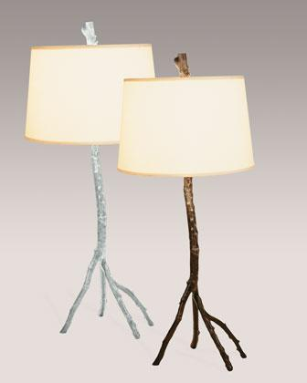 Branches table lamp Beachy Decorpad Michael Aram Silver And Copper Enchanted Forest Table Lamp