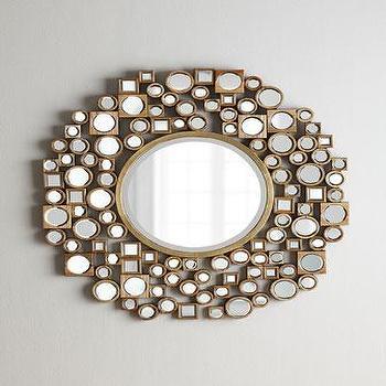 Golden Jorn Mirror I Neiman Marcus