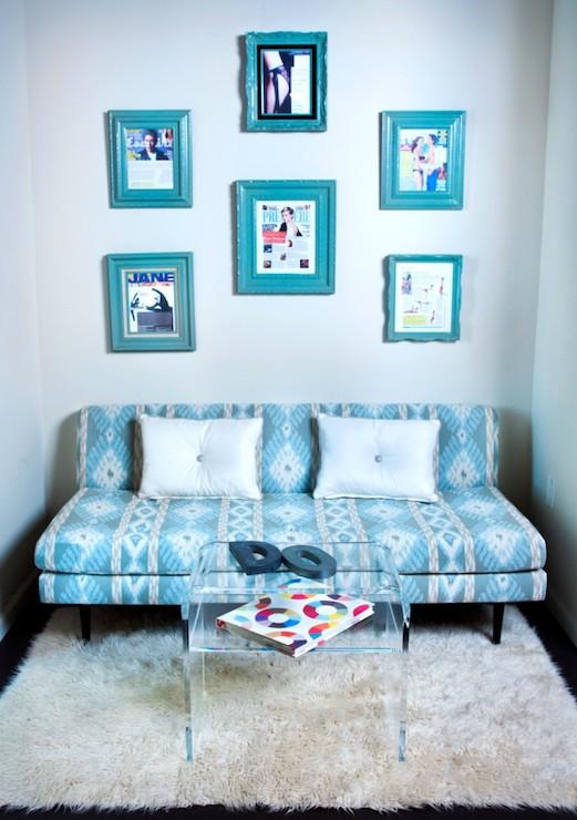 Gentil Patterned Sofa