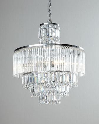 Rossborough clear crystal chandelier aloadofball Choice Image