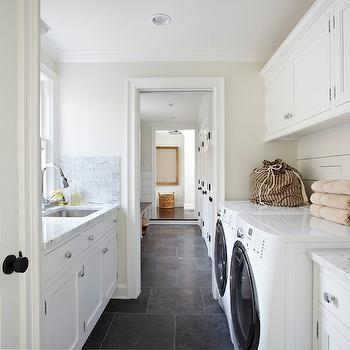 Galley Laundry Room, Transitional, laundry room, TR Building & Remodeling