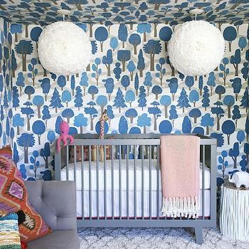 Oeuf Sparrow Crib, Contemporary, nursery, House of Honey