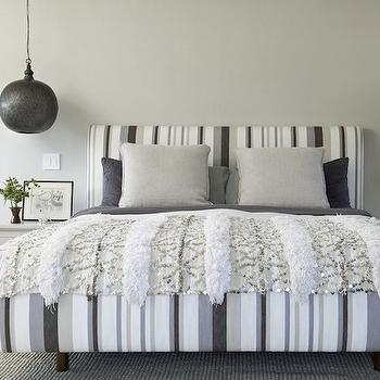 Lighting over Nightands, Contemporary, bedroom, House of Honey