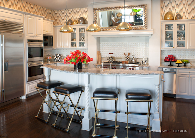 Interior design inspiration photos by jeff andrews design - Kourtney kardashian kitchen chairs ...