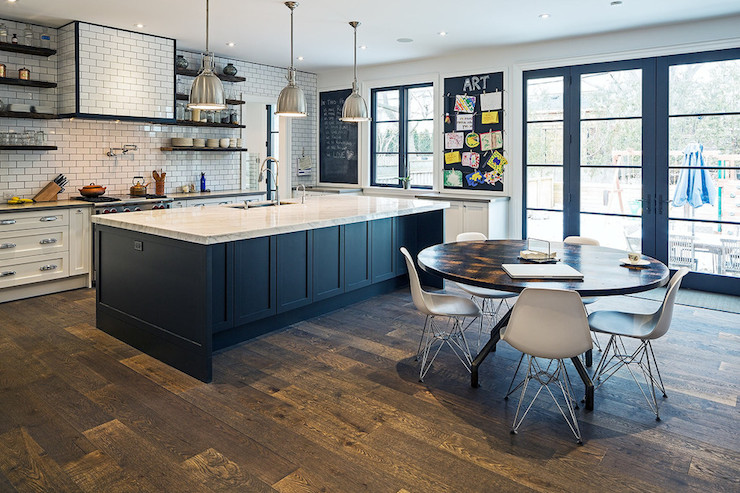 Kitchen Island With Shelves On Top
