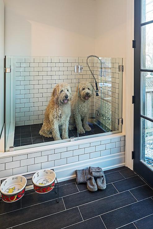 Mudroom Dog Shower