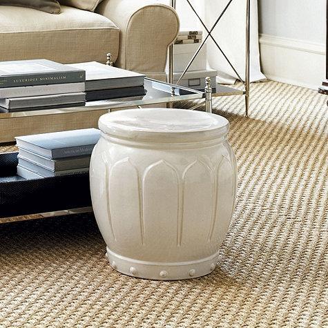 Peachy Moroccan White Garden Seat Machost Co Dining Chair Design Ideas Machostcouk