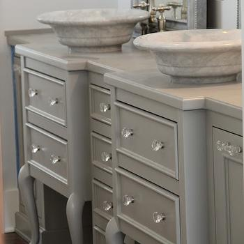 Repurposed Double Bathroom Vanity Design Ideas