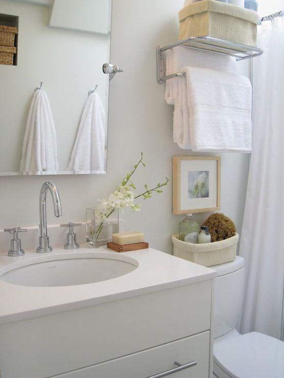 Ikea Washstand - Transitional - bathroom - Carol Reed Design