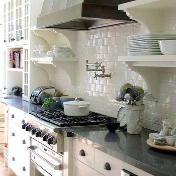 Integrated Warming Drawer, Transitional, kitchen, Carol Reed Design