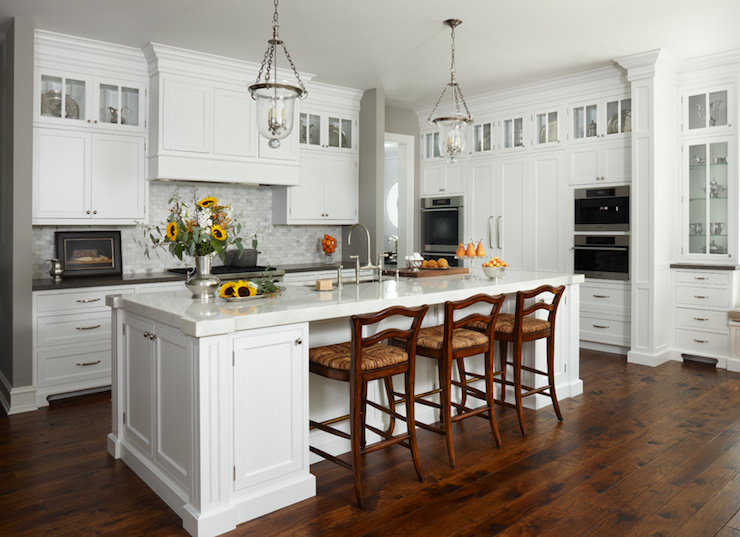 L Shaped Kitchen Country Kitchen Mb Wilson Interior Design