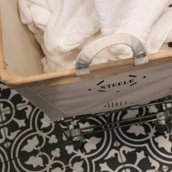 Rolling Laundry Hamper, Transitional, laundry room, Brown Eyed Fox