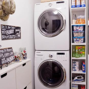 Laundry Room Shelves, Transitional, laundry room, Lowes