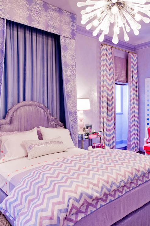 Purple Bedrooms Contemporary Girl S Room Robyn Karp