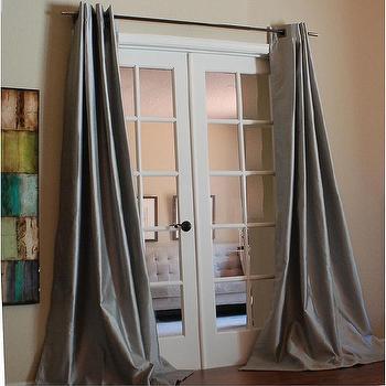 Mia Faux Silk 96-inch Curtain Panel, Overstock.com