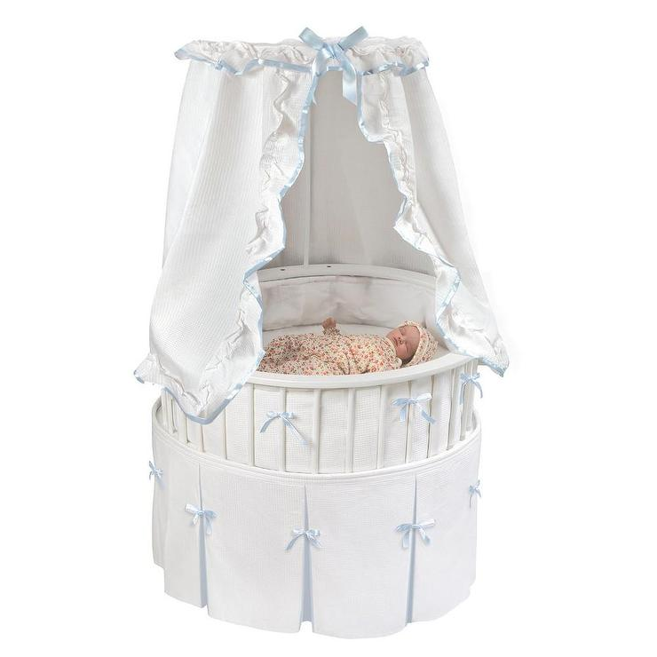 Ruffle Bassinet Bedding Pottery Barn Kids