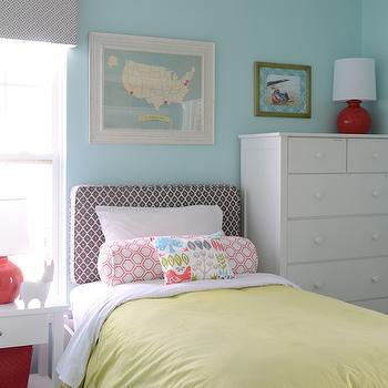Yellow Duvet, Transitional, girl's room, Finnian's Moon Interiors
