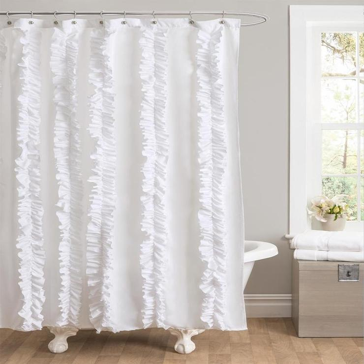 Urbanoutfitters Com Gt Bloomer Ruffle Shower Curtain