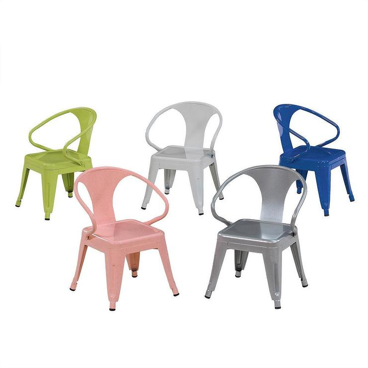Kids Tabouret Assorted Colors Stacking Chairs