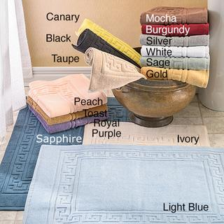 Luxurious Egyptian Cotton 2-piece Bath Mat Set, Overstock.com