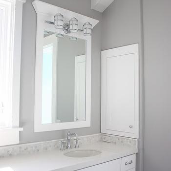 Organic White Quartz, Transitional, bathroom, Frazee Paint Seattle, Sunny Side Up