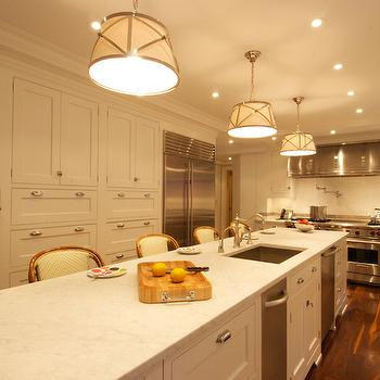 Stove Alcove Transitional Kitchen Carolina Design Associates
