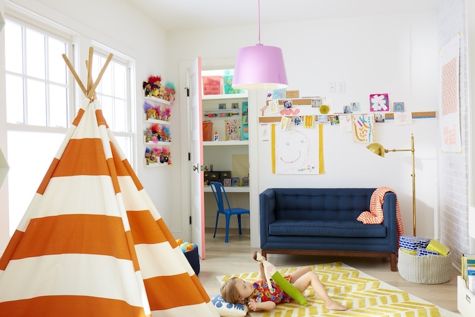 Kids Playroom Ideas Transitional Girls Room RT Abbott - Boy girl playroom ideas