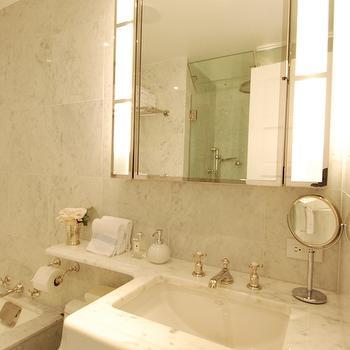 Ceiling Height Bathroom Mirror Design Ideas