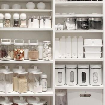 Organized Pantry Transitional Kitchen Benjamin