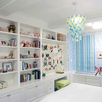 Floor to ceiling bookshelves contemporary den library office jan showers - Adorable dollhouse bookshelves kids to decorate the room ...