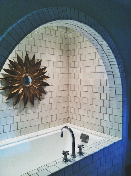 Arched Bathtub Alcove Contemporary Bathroom Pulp