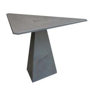 James De Wulf Locking Triangle Grey Dining Table