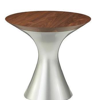 Hightower Walnut Martini Table, 2Modern