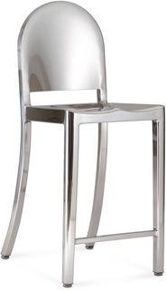 Fabulous Emeco Morgans Silver Counter Stool Alphanode Cool Chair Designs And Ideas Alphanodeonline