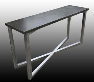 James De Wulf Gooding Grey Console Table