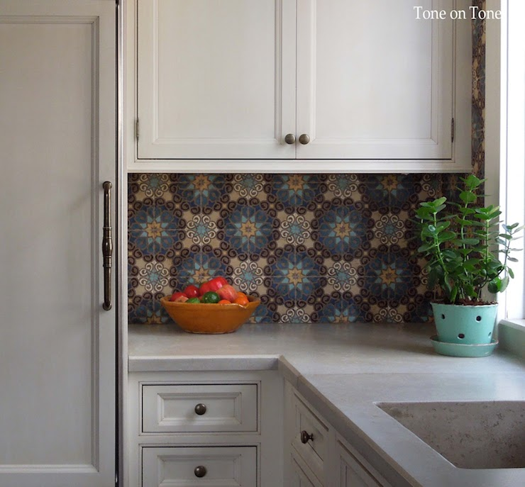 Kitchen cabinets with concrete countertops design ideas Moroccan inspired kitchen design