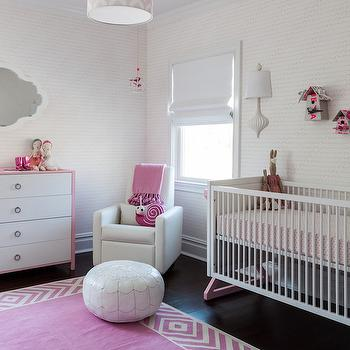 Pink Nursery Ideas, Contemporary, nursery, Sissy and Marley