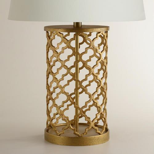 Moroccan Table Lamp Base Pottery Barn