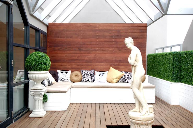Glass Patio - Contemporary - deck/patio - Megan Hess