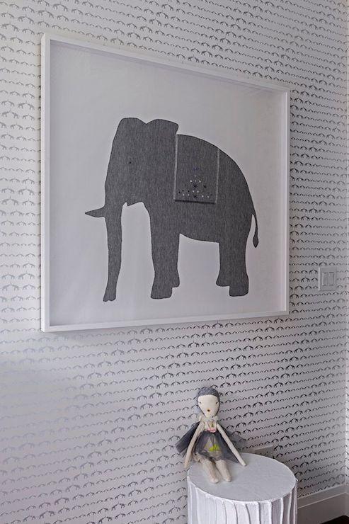 Baby Elephant Walk Wallpaper