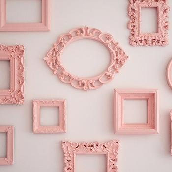 Empty Picture Frames, Contemporary, nursery, Sherwin Williams Hopeful, Project Nursery