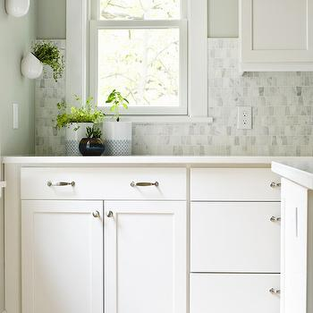 Aloof Gray, Transitional, kitchen, Sherwin Williams Aloof Gray, Curbly