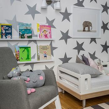 Book Ledge, Contemporary, boy's room, Sissy and Marley
